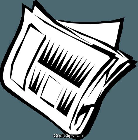 Zeitung Vektor Clipart Bild - PNG Zeitung