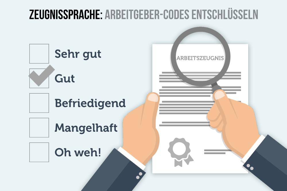 Zeugnissprach Arbeitszeugnis Geheimcodes entschluesseln - PNG Zeugnis
