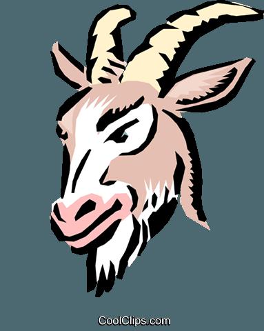 Cartoon Ziege Vektor Clipart Bild - PNG Ziegenbock