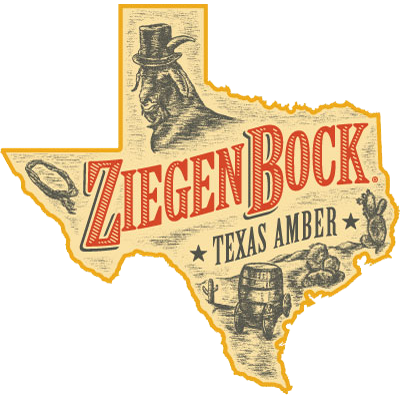 Introduced in 1995, ZiegenBock is brewed in Houston and is a beer of the  South. Only Texans get it, but they love it in Colorado too! - PNG Ziegenbock