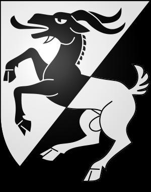 Ziegenbock (Wappen von Wilderswil, Schweiz) - PNG Ziegenbock