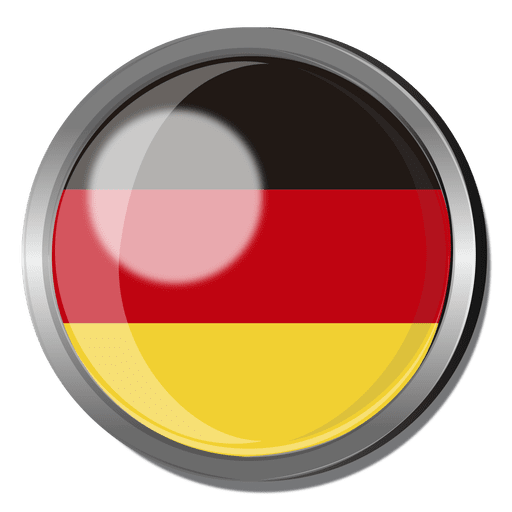 Germany flag badge Transparent PNG - PNGs Baden