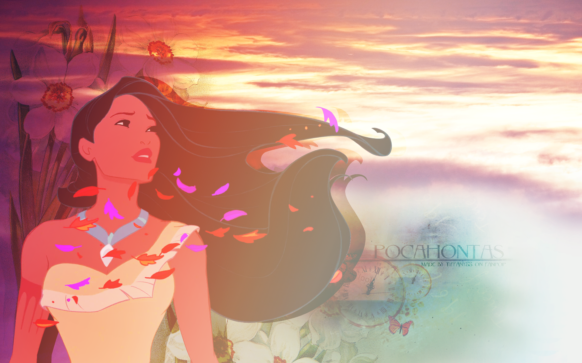 HD Wallpaper And Background Photos Of Pocahontas For Fans Of Disney  Princess Images. - Pocahontas PNG HD