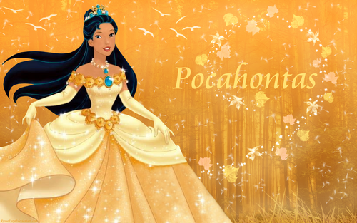 Pocahontas Wallpaper Called Indian Princess Pocahontas - Pocahontas PNG HD