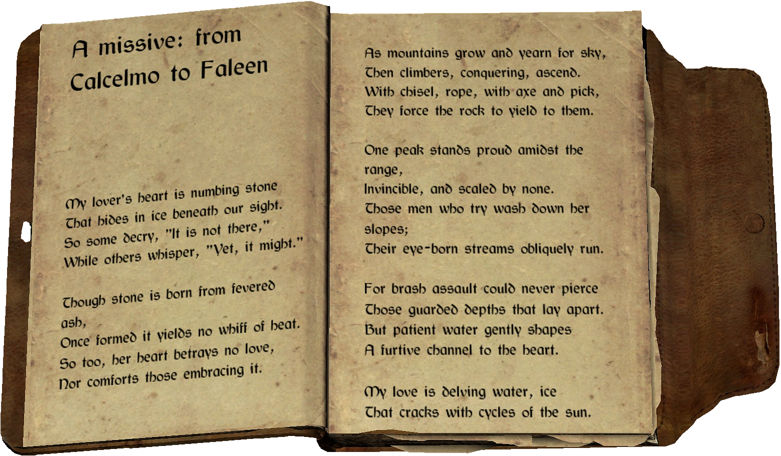 Love Poem Page1-2.png - Poem Book PNG