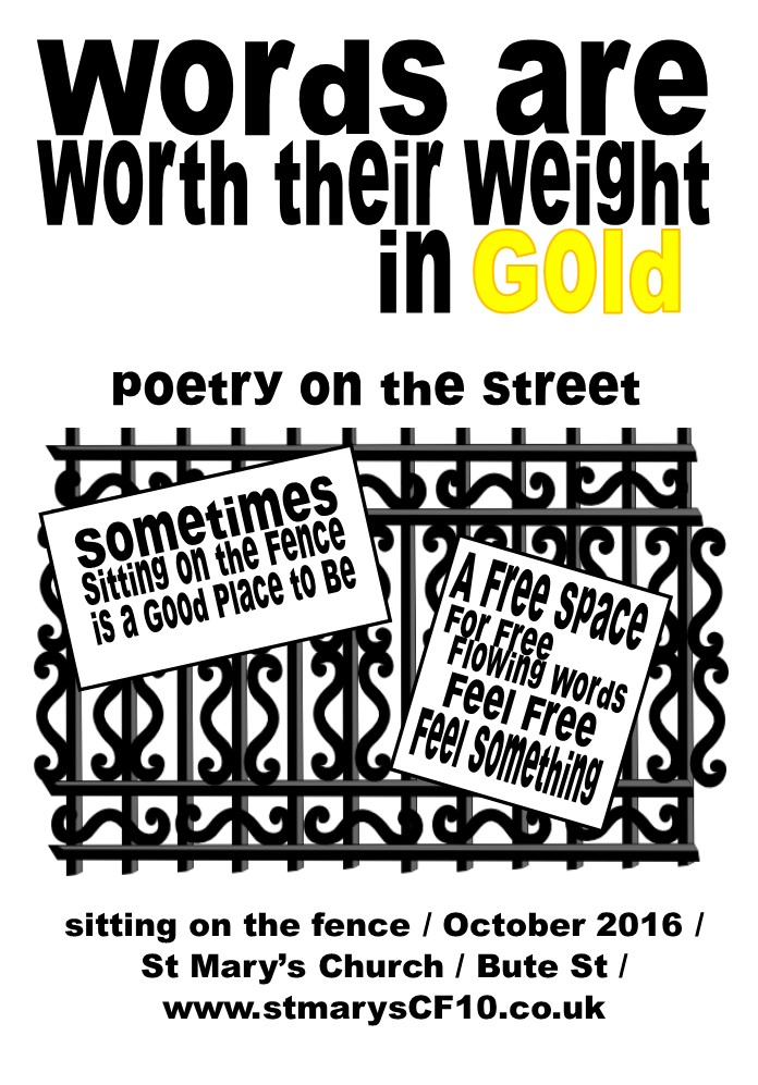 . PlusPng.com poetry-fence-flyer-front-00000002 - Poetry Cafe PNG