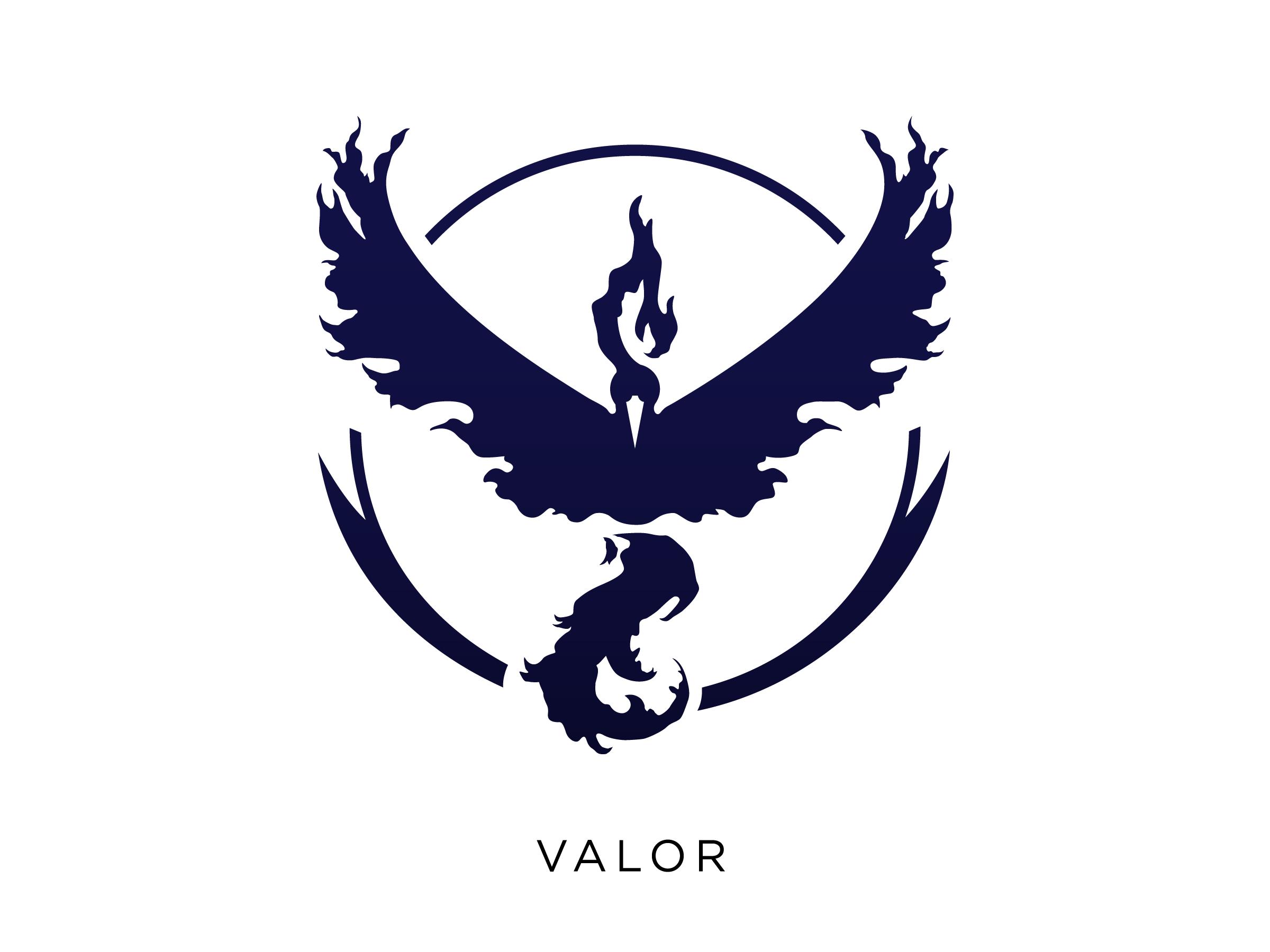 . PlusPng.com Pokemongo team logos valor - Pokemon Company Logo Vector PNG