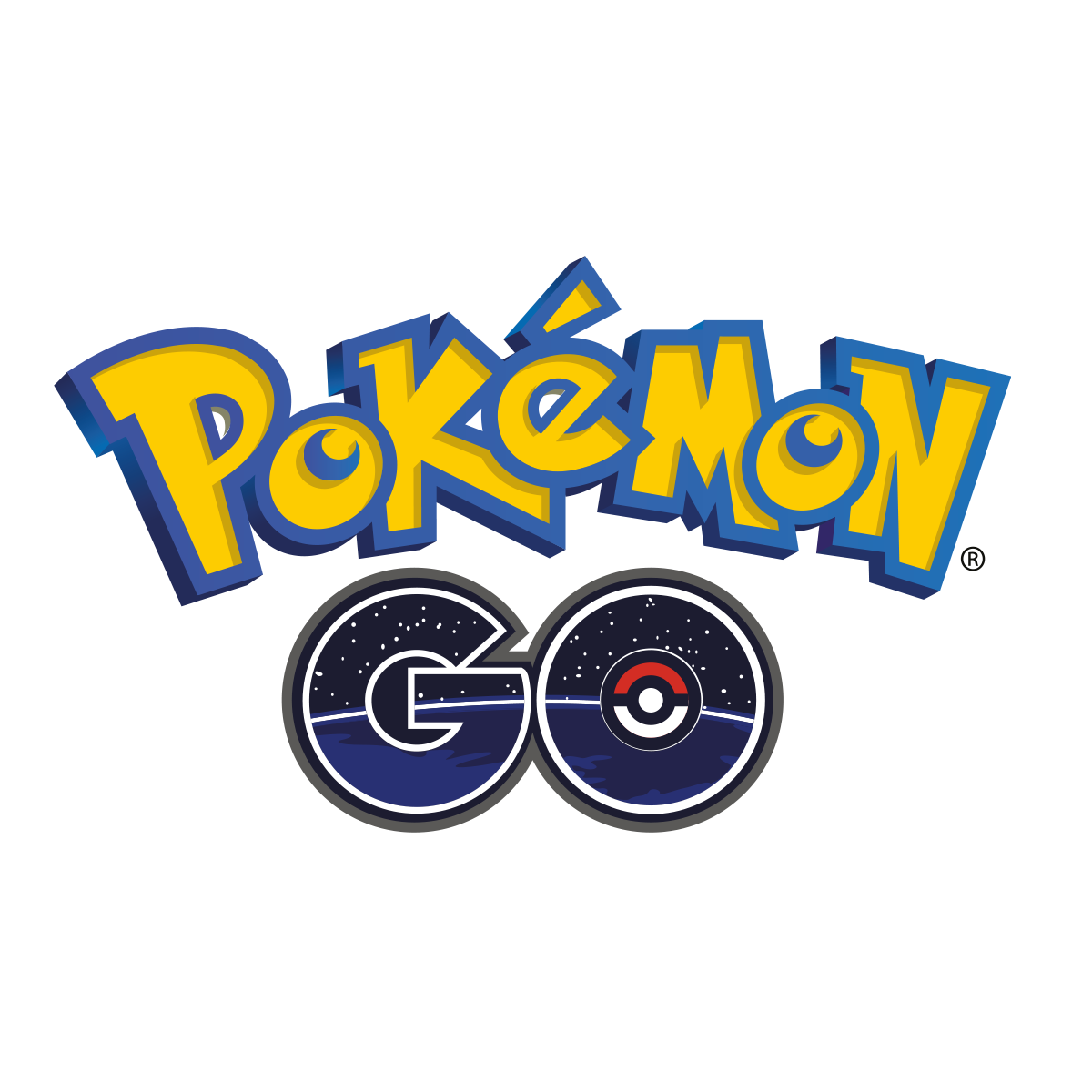 Pokemon Go Logo Vector PNG - 113292