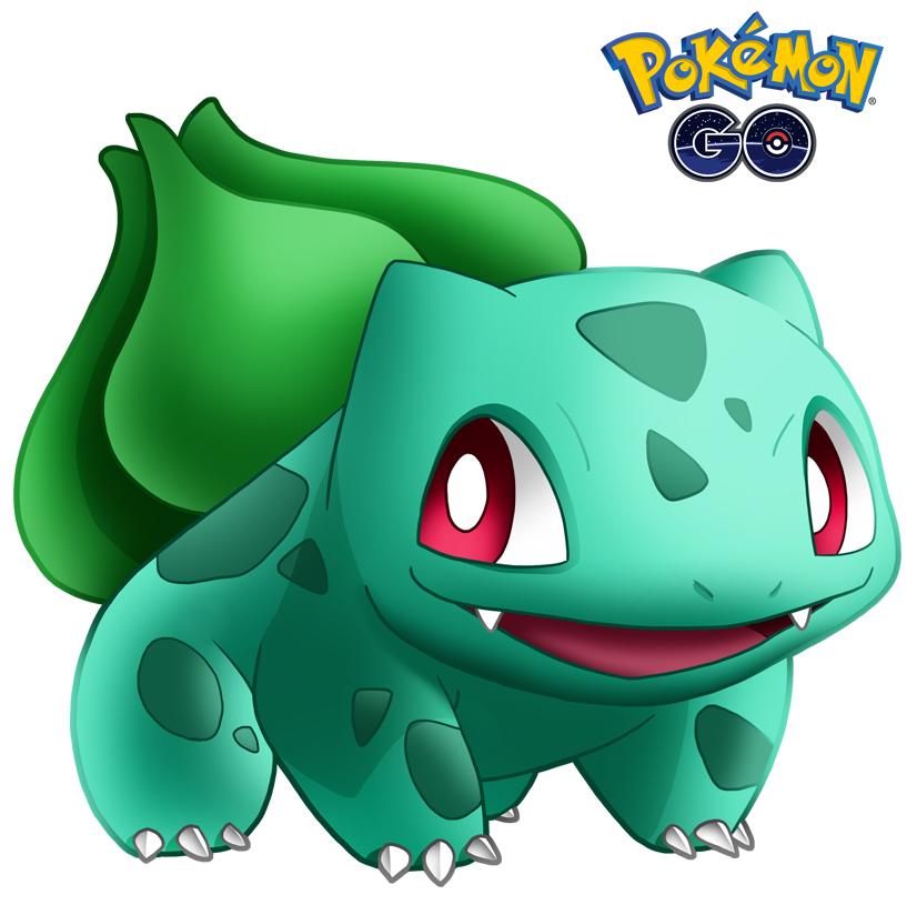 Bulbasaur 1 de Pokémon Go - Pokemon Go PNG