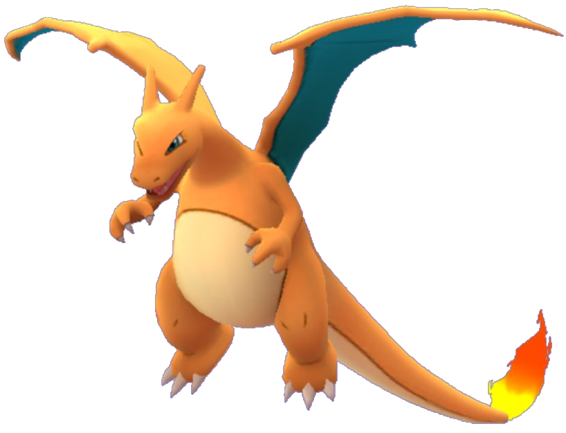 Charizard-GO.png - Pokemon Go PNG