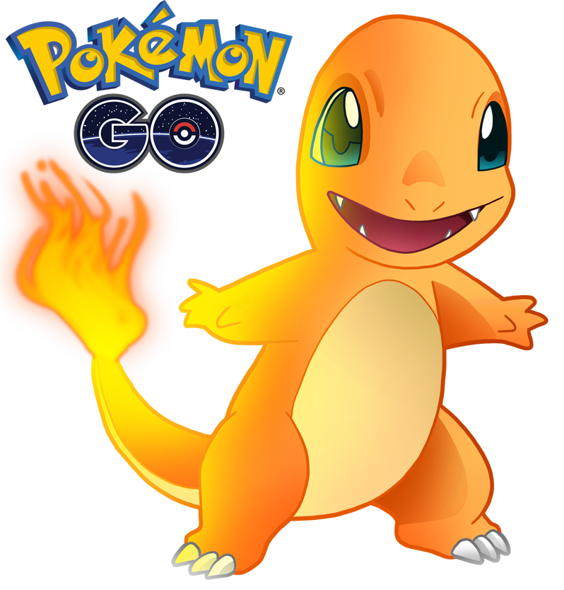 Charmander 1 de Pokémon Go - Pokemon Go PNG