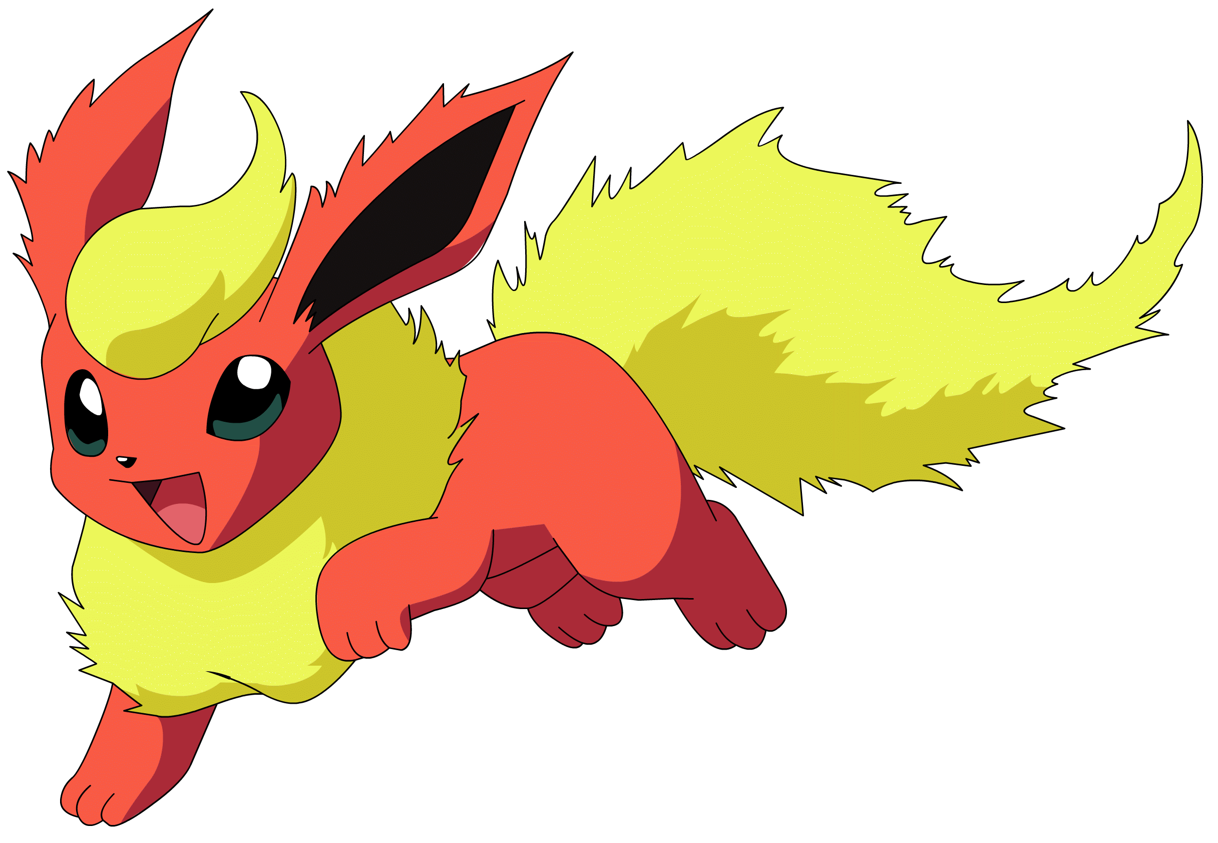 Flareon Pokemon - Pokemon HD PNG