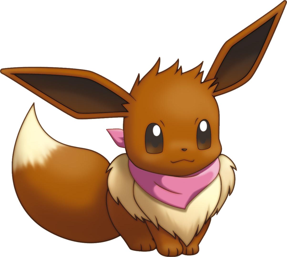 Image - 133Eevee Pokemon Mystery Dungeon Explorers Of Sky.png | Pokémon  Wiki | FANDOM Powered By Wikia - Pokemon HD PNG