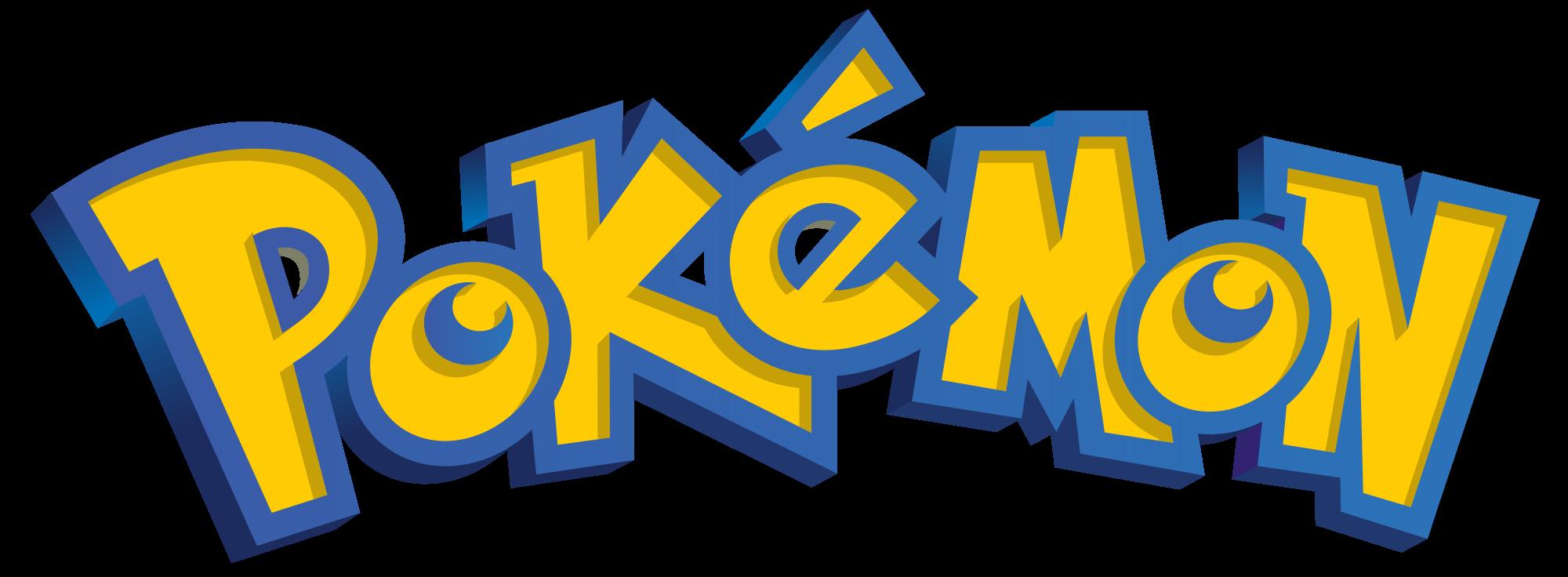 Pokemon Logo.png - Pokemon HD PNG