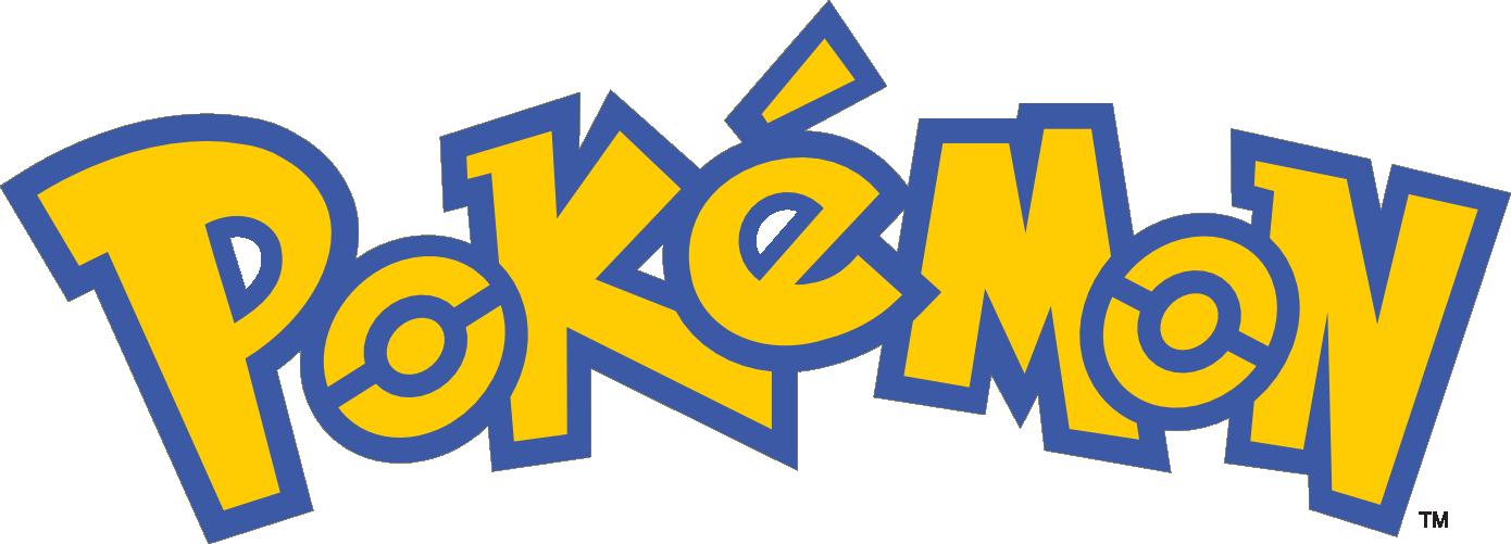 pokemon logo text png #1428 - Pokemon Logo PNG
