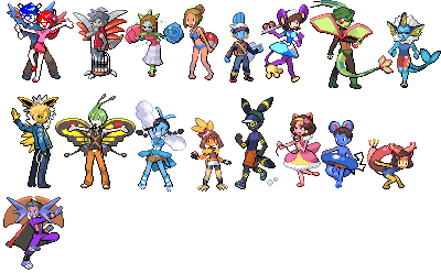 http://i235.photobucket pluspng.com/albums/ee124/partypichu/PokemonPeople.png ?tu003d1201214557 - Pokemon People PNG