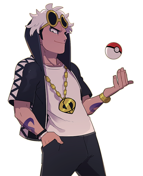 Pokemon gijinka · pokemon_sun_and_moon_team_skull_boss_guzma.png PlusPng.com  - Pokemon People PNG