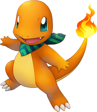 File:004Charmander Pokémon Super Mystery Dungeon.png - Pokemon PNG