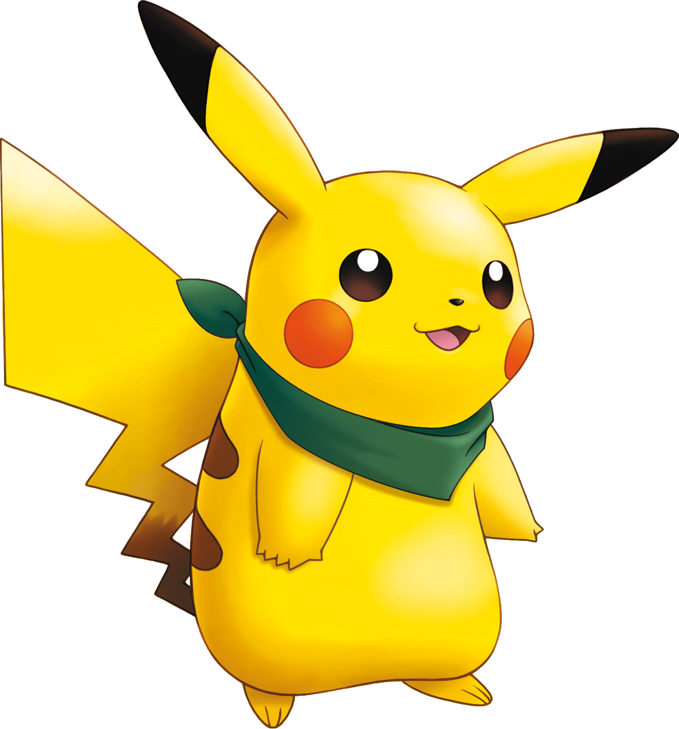 Pikachu Pokemon Mystery Dungeon Explorers of Sky.png - Pokemon PNG