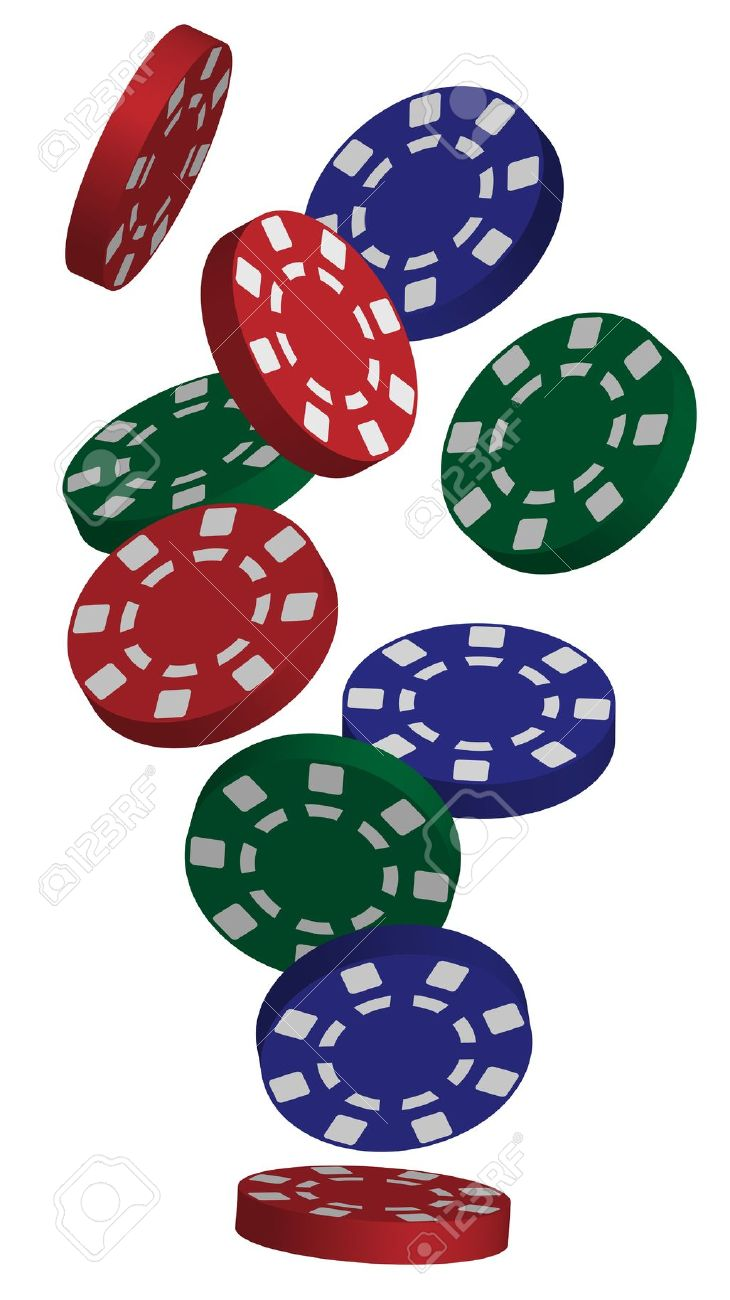 Casino Poker Chips Clipart - Poker Chips PNG HD