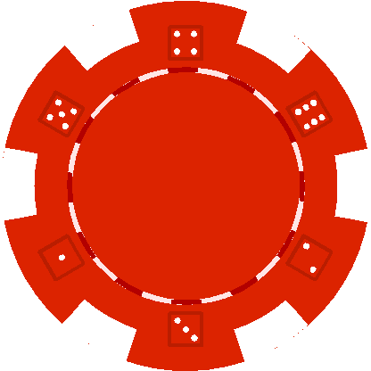 File Poker Chip Red Png - Poker Chips PNG HD