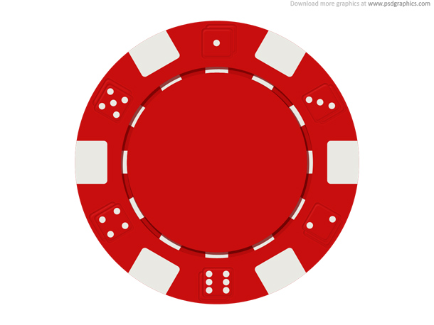 Pin Card Clipart Poker Chip #8 - Poker Chips PNG HD