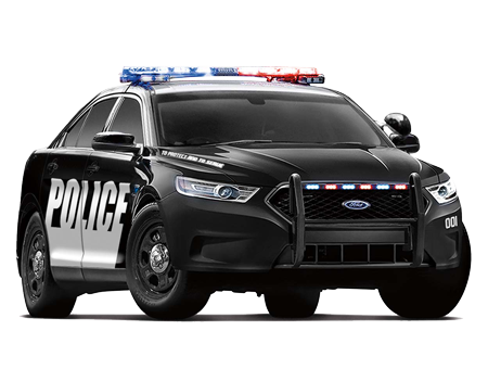 Police Car HD PNG - 91128