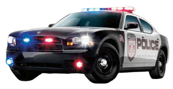 Police Car HD PNG - 91124