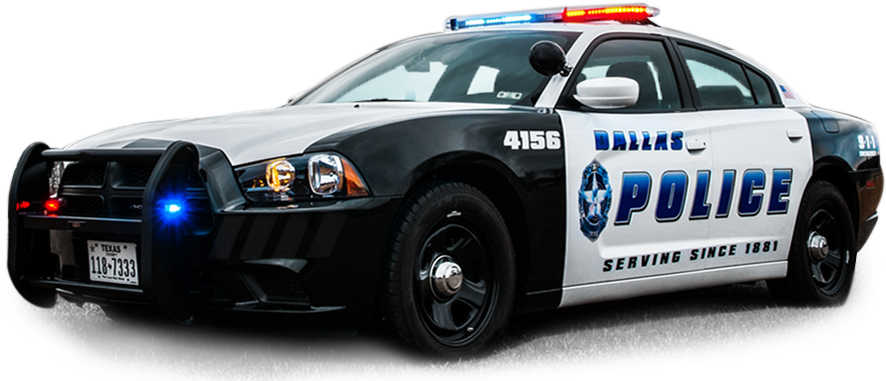 Police Car HD PNG - 91123