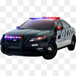Police Car HD PNG - 91127
