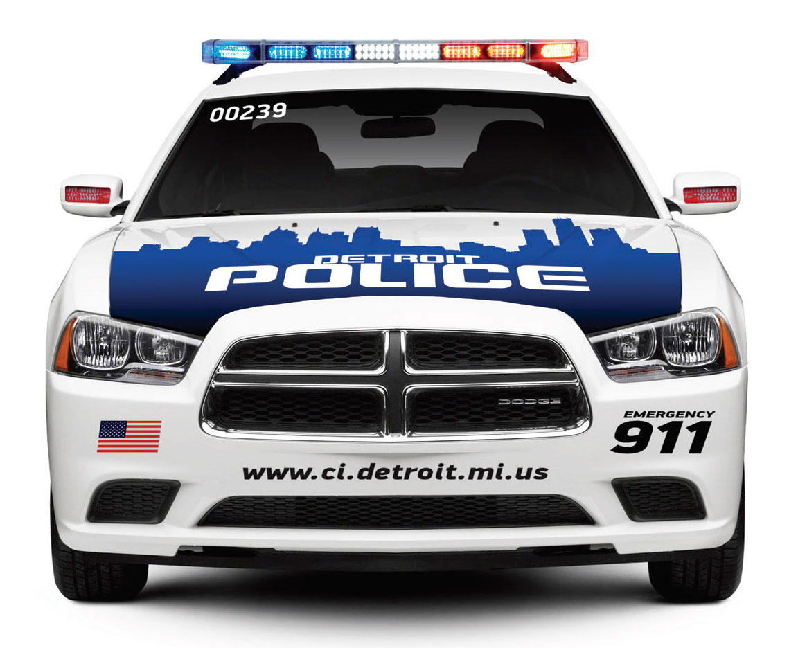 Police Car HD PNG - 91125