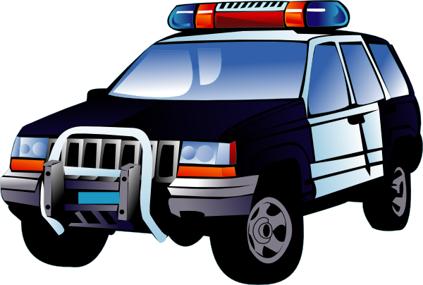 Police Car Clip Art At Clker Pluspng.com - Vector Clip Art Online, Royalty Free U0026  Public Domain - Police Car HD PNG