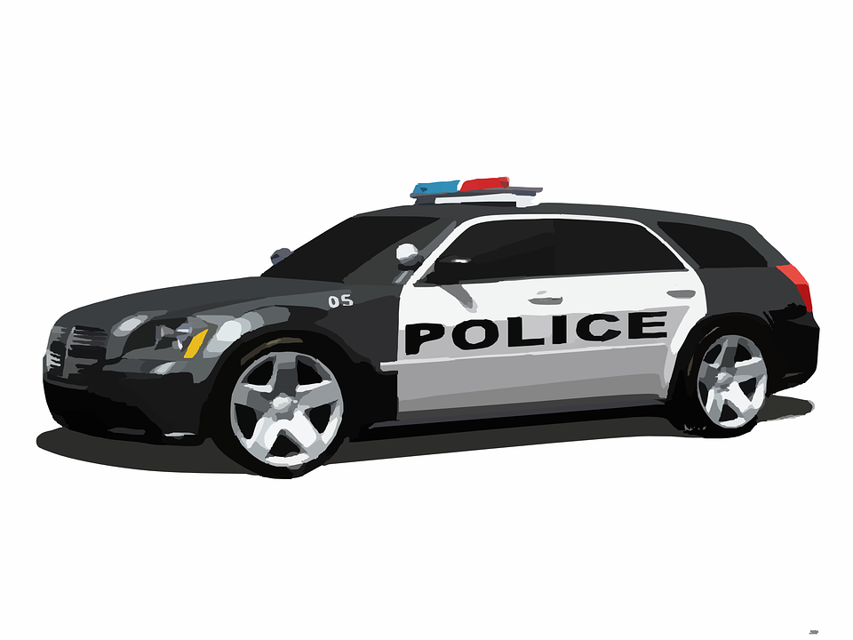 Police Car HD PNG - 91120