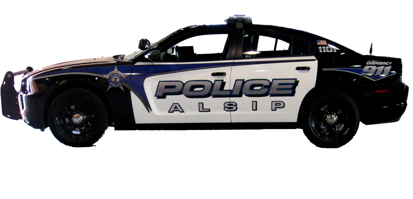 Police Car HD PNG - 91122
