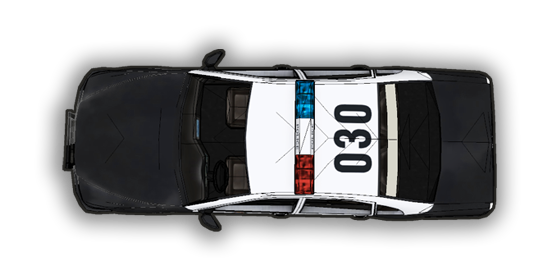 Community Forums: Top-Down Police Car Tokens - Police Car PNG Top View