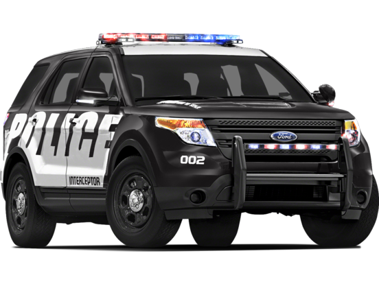 Police Car PNG Top View - 149896