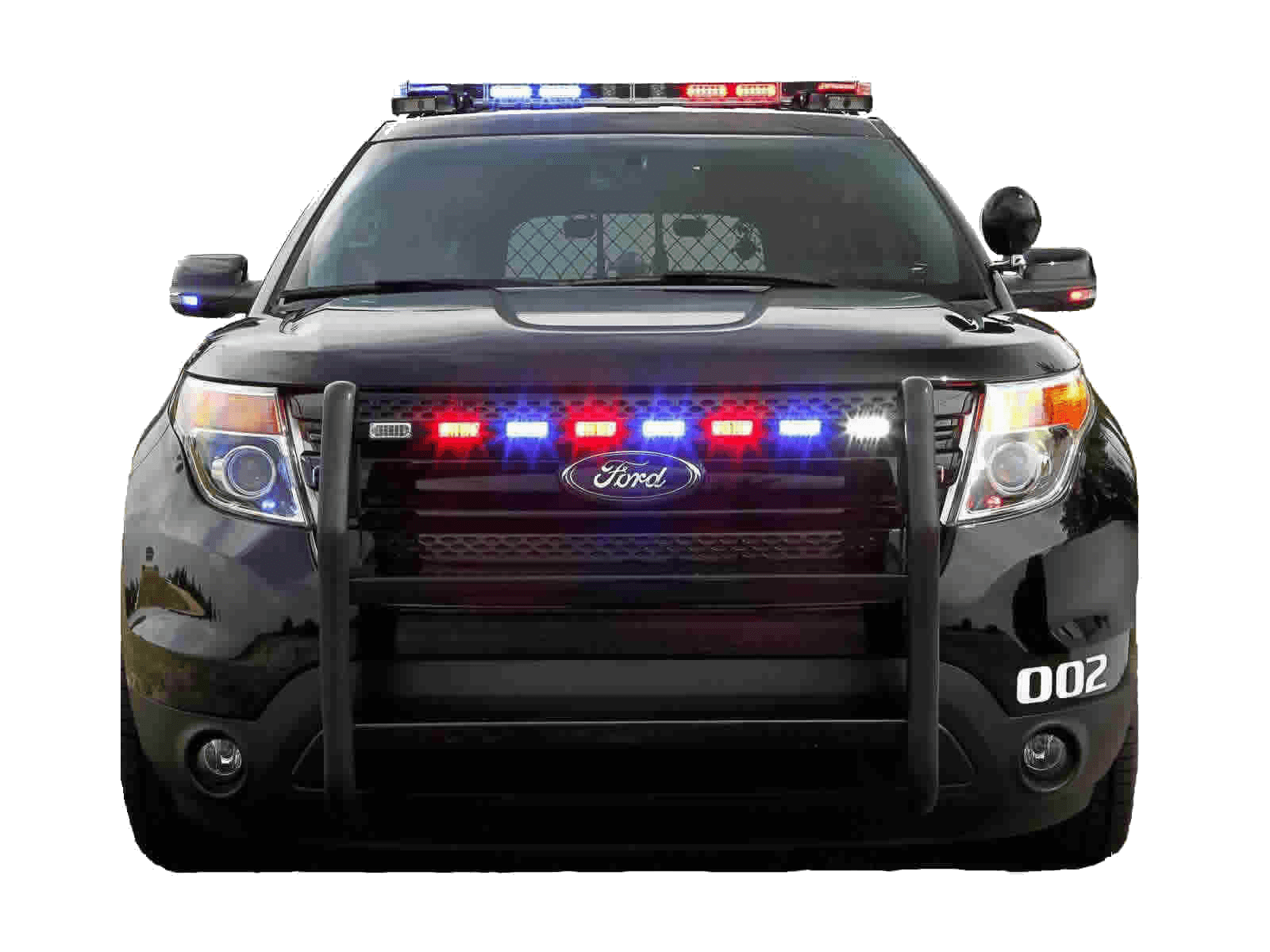 Police Car PNG Top View - 149903