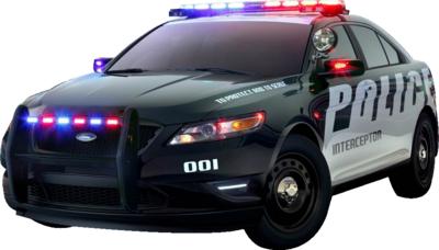 Police car PSD - Police Car H