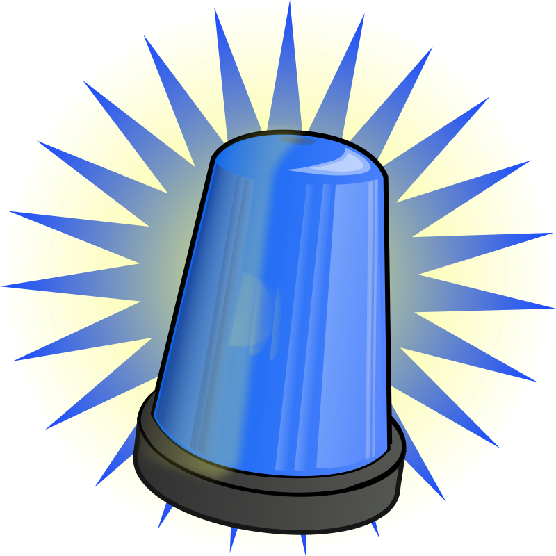 Pin Cop Clipart Police Siren #4 - Police Siren PNG