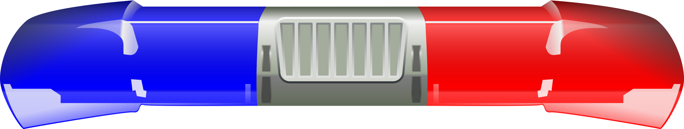 police car light bar clipart - Police Siren PNG