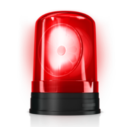 Police Light - Police Siren PNG