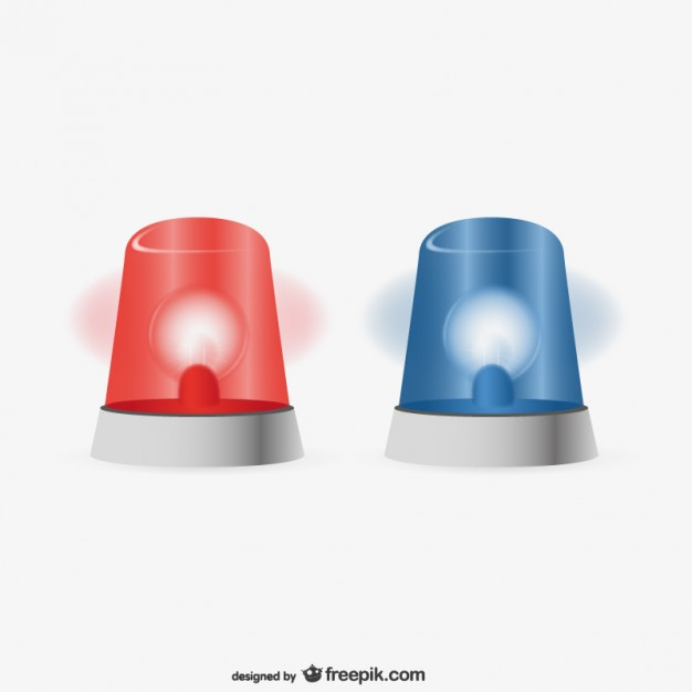 Police Sirens Vector Free Vector - Police Siren PNG