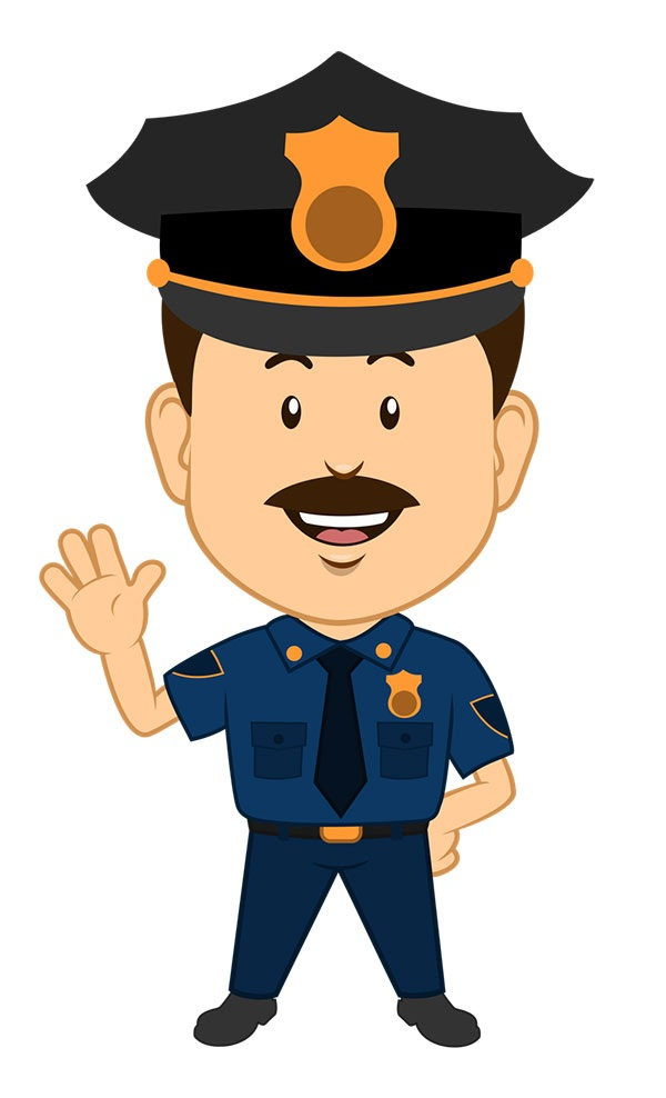 Police Clip Art For Kids Free Clipart Images 2 - Cliparting intended for  Policeman Clipart Hd - Policeman PNG HD Free