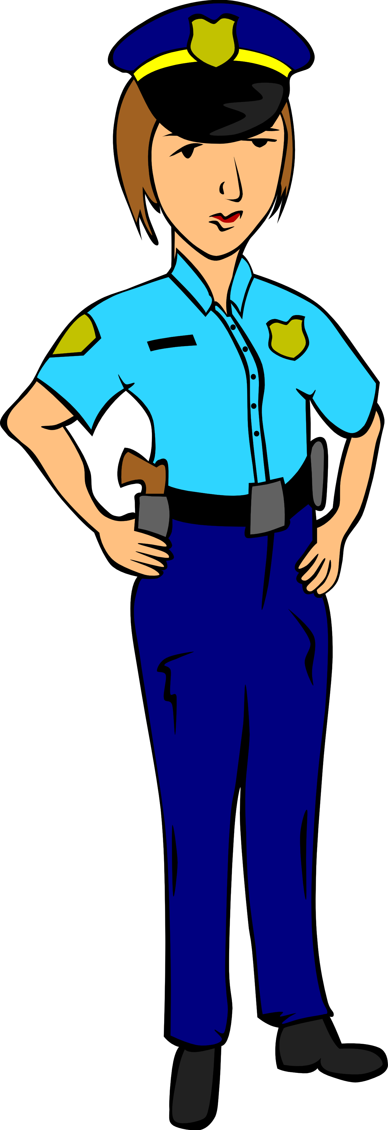 Police Officer Clipart | Clipart library - Free Clipart Images - Policeman PNG HD Free