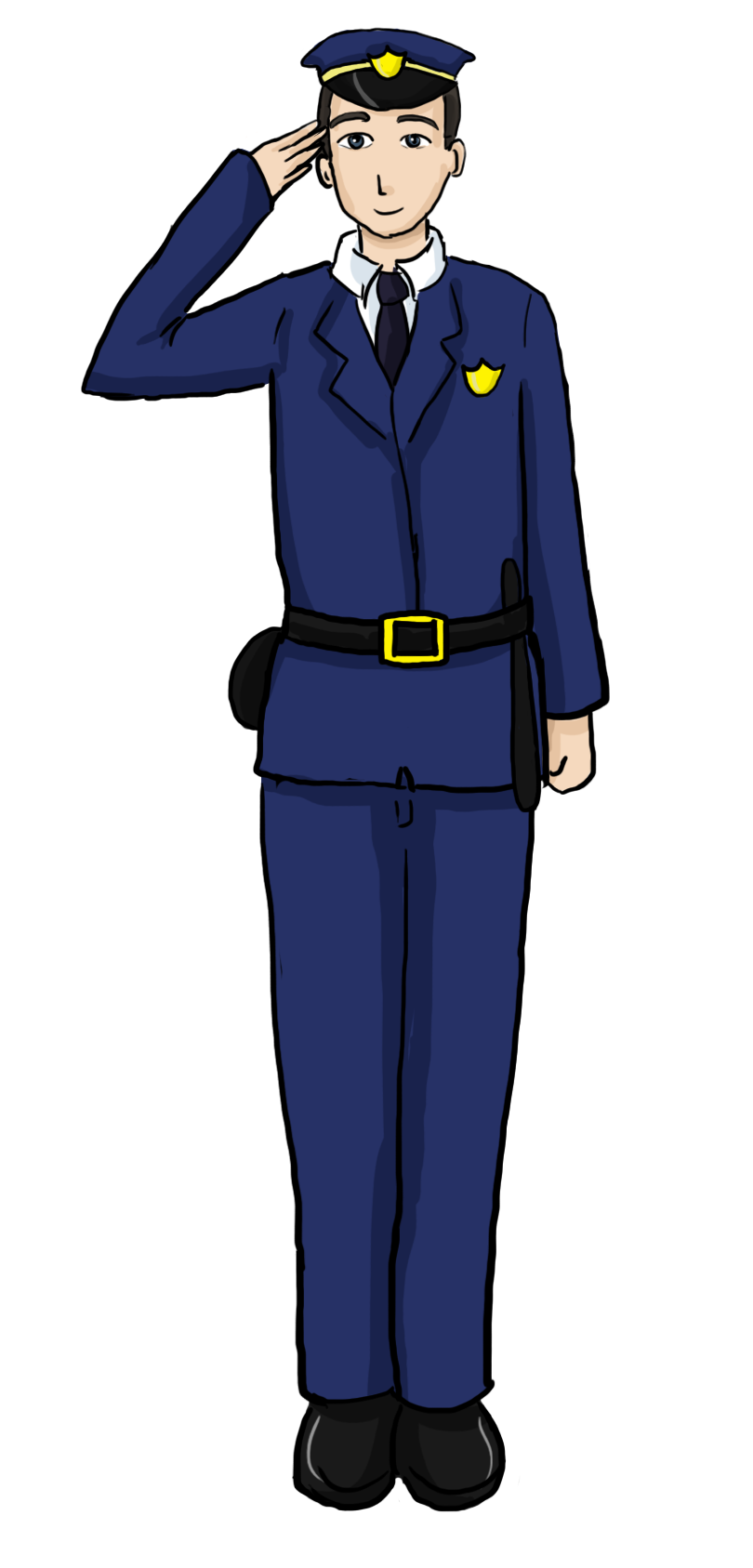 Policeman Uniform Clipart