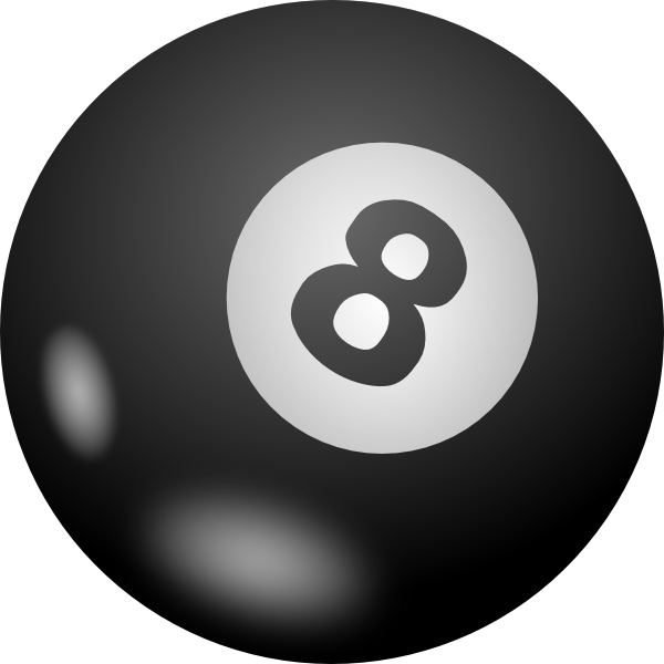 8 Ball Pool Transparent PNG - Pool Ball PNG HD