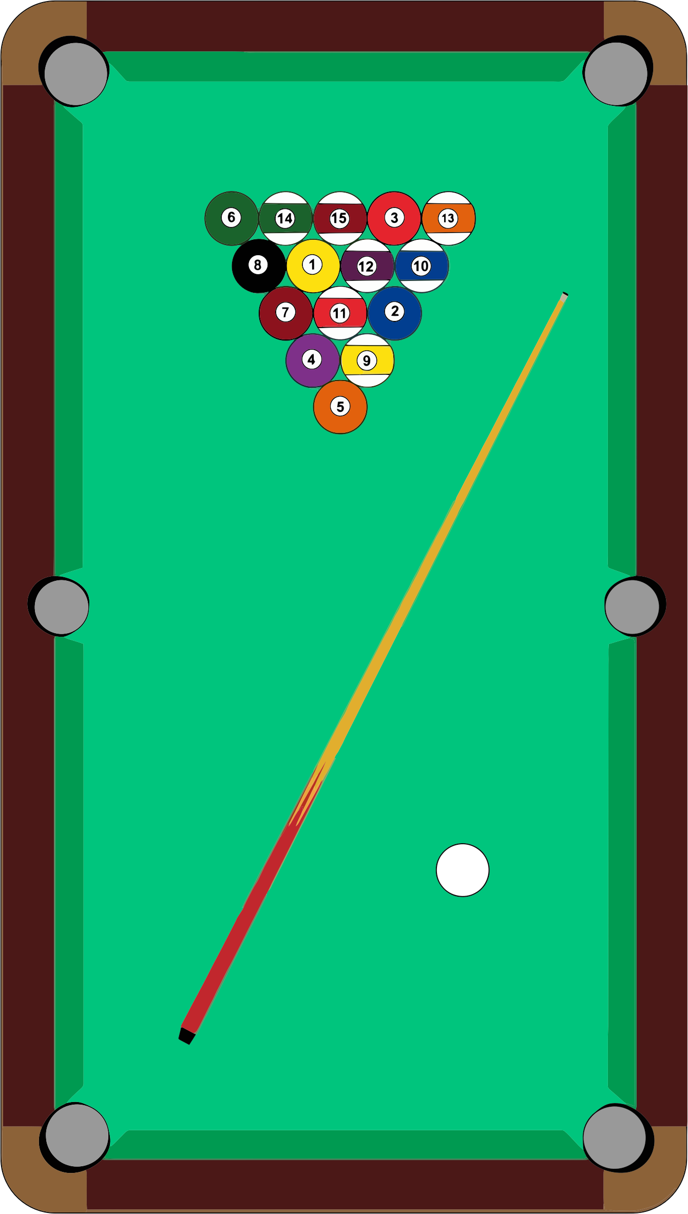 Animated Pool Table Captivating On - Pool Table PNG HD