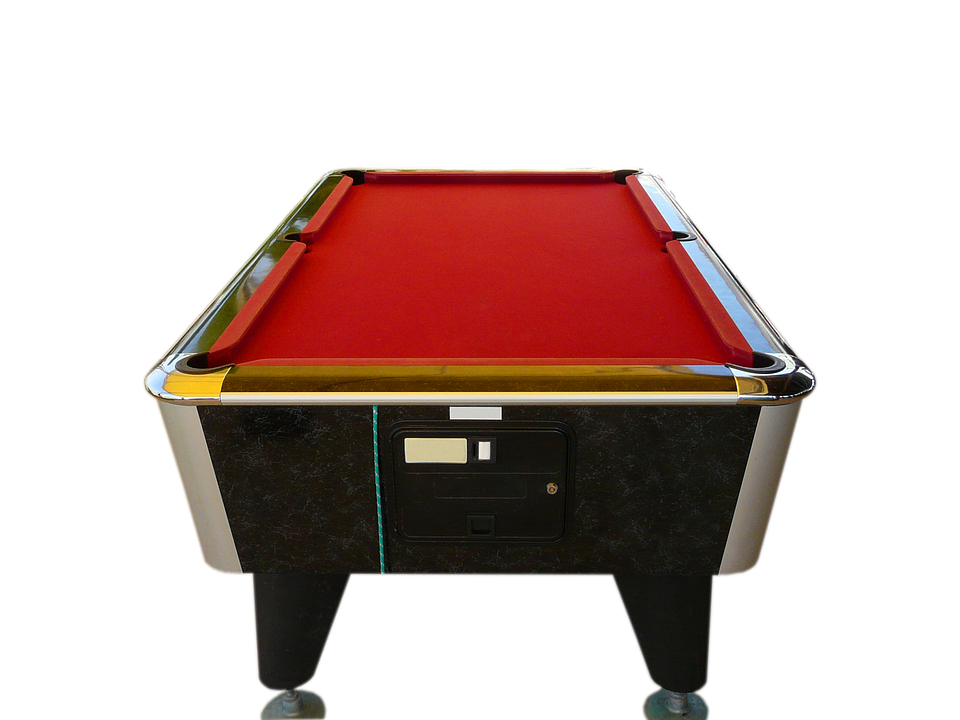 Billiards Pool Table Red Billiards Billiar - Pool Table PNG HD