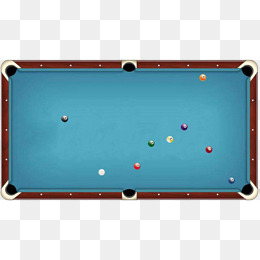Blue billiard table top view material, Hd, Material, Design PNG Image - Pool Table PNG HD