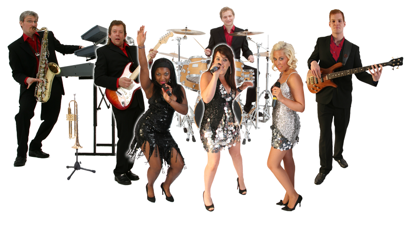 The Catch are one of the top function bands in the UK - Pop Band PNG